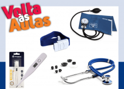Kit - Enfermagem Completo  - Azul
