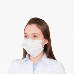 Máscara Cirúrgica Descartável - Branca