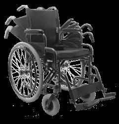Cadeira de Rodas Reclinável D400